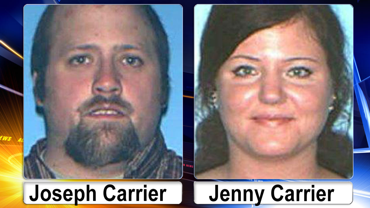 Joseph and Jenny Carrier