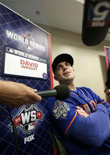 "<div class=""meta image-caption""><div class=""origin-logo origin-image none""><span>none</span></div><span class=""caption-text"">New York Mets third baseman David Wright talks during media day. ((AP Photo/Charlie Riedel))</span></div>"