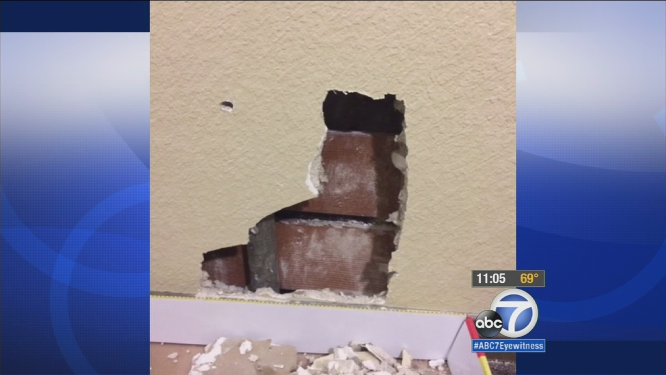 LAPD officer investigated after bullet fired into Culver City apartment