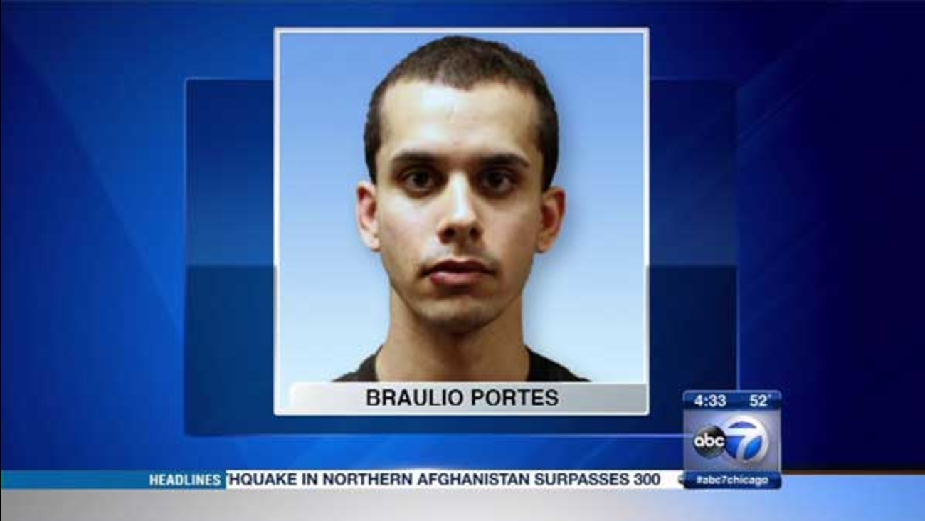 Braulio Portes, 26, of Des Plaines, was charged in an attack on a CTA train operator.