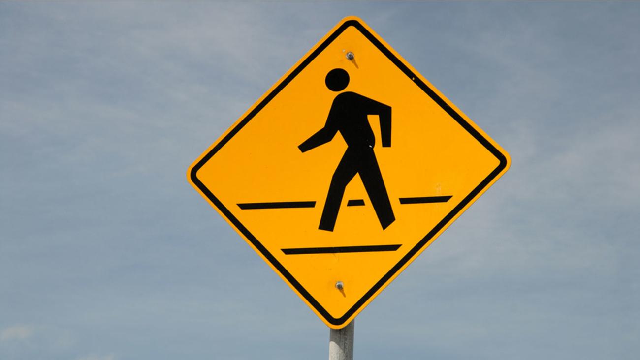 crosswalk sign