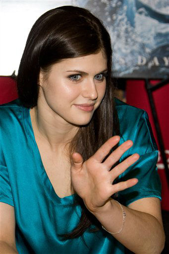 <div class='meta'><div class='origin-logo' data-origin='none'></div><span class='caption-text' data-credit='harles Sykes'>Alexandra Daddario appears at Borders Books to promote the movie &#34;Percy Jackson & The Olympians: The Lightning Thief&#34; in New York, Wednesday, Feb. 3, 2010.</span></div>