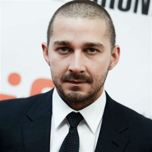 <div class='meta'><div class='origin-logo' data-origin='none'></div><span class='caption-text' data-credit='Photo/Richard Shotwell'>Actor Shia LaBeouf attends a premiere for &#34;Man Down&#34; on day 6 of the Toronto International Film Festival on Sept. 15, 2015.</span></div>