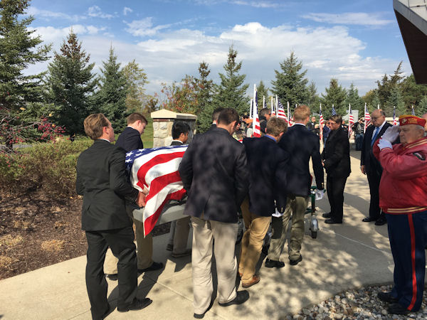 """<div class=""""meta image-caption""""><div class=""""origin-logo origin-image none""""><span>none</span></div><span class=""""caption-text"""">None of the students knew the veterans they served as pallbearers for. (University of Detroit Jesuit High School)</span></div>"""