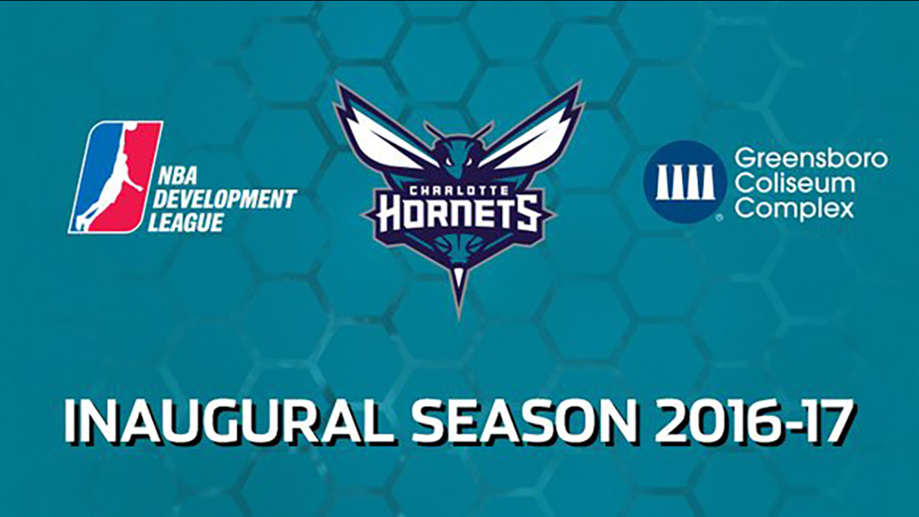 The NBA D-League and the Charlotte Hornets announced their new team in Greensboro Tuesday, October 27, 2015