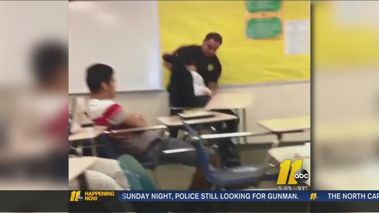 Justice Department investigating classroom incident