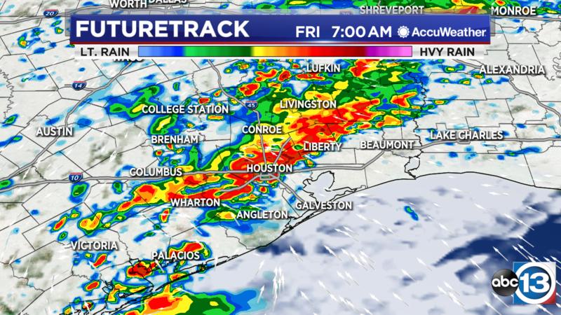 Houston Weather: Flash Flood Watch Friday to Sunday - ABC13 Houston