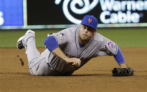 "<div class=""meta image-caption""><div class=""origin-logo origin-image none""><span>none</span></div><span class=""caption-text"">New York Mets' Lucas Duda can't handle a ball hit by Kansas City Royals' Ben Zobrist during the fourth inning of Game 2. (AP Photo/ David J. Phillip)</span></div>"