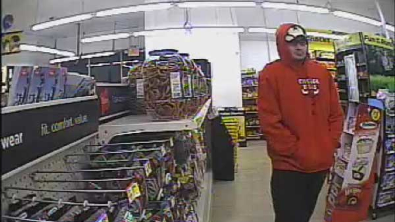 Surveillance cameras recorded a man who robbed Dollar General at gunpoint in Valparaiso, Indiana, police said.