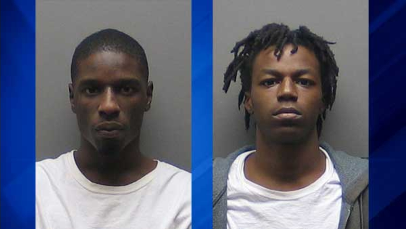 Harris Andrew Howard, 22, and Enrico Nelson, 19, both of Florida, were charged in the attempted burglary of a vehicle in west suburban St. Charles.