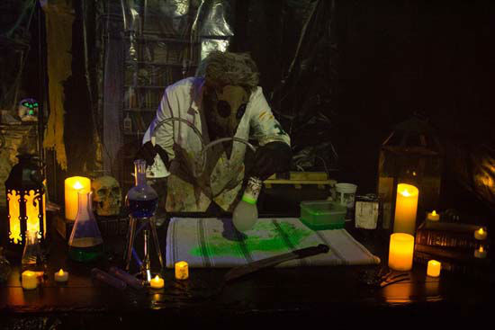 "<div class=""meta image-caption""><div class=""origin-logo origin-image none""><span>none</span></div><span class=""caption-text"">A ""Mad Scientist"" scene from a homemade haunted house (KTRK Photo/ Matthew and Sarah Haley)</span></div>"