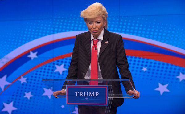 "<div class=""meta image-caption""><div class=""origin-logo origin-image none""><span>none</span></div><span class=""caption-text"">Kelly Ripa dresses as presidential candidate Donald Trump  for the ''LIVE with Kelly and Michael'' Halloween special. (Pawel Kaminski, Disney/ABC Home Entertainment and TV Distribution)</span></div>"