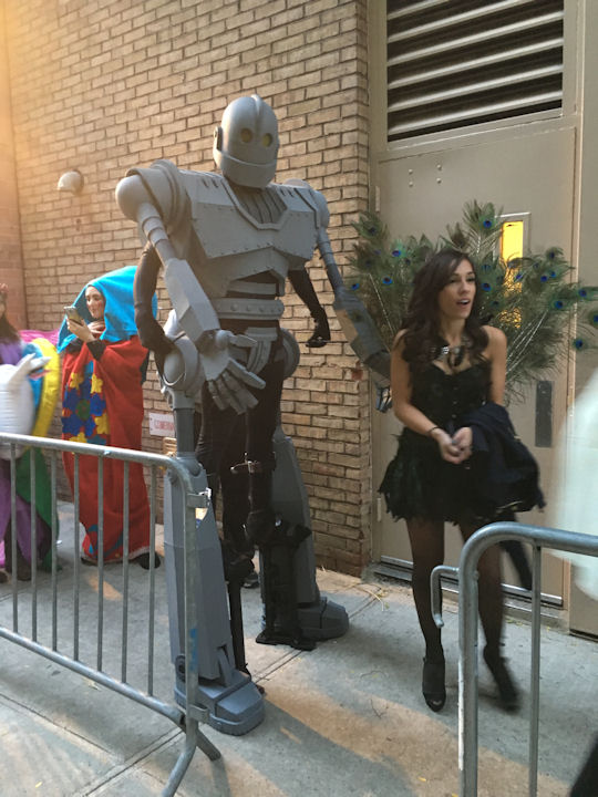 "<div class=""meta image-caption""><div class=""origin-logo origin-image none""><span>none</span></div><span class=""caption-text"">An audience members dresses as the Iron Giant for the ''LIVE with Kelly and Michael'' Halloween costume contest. (Bob Monek. Eyewitness News)</span></div>"
