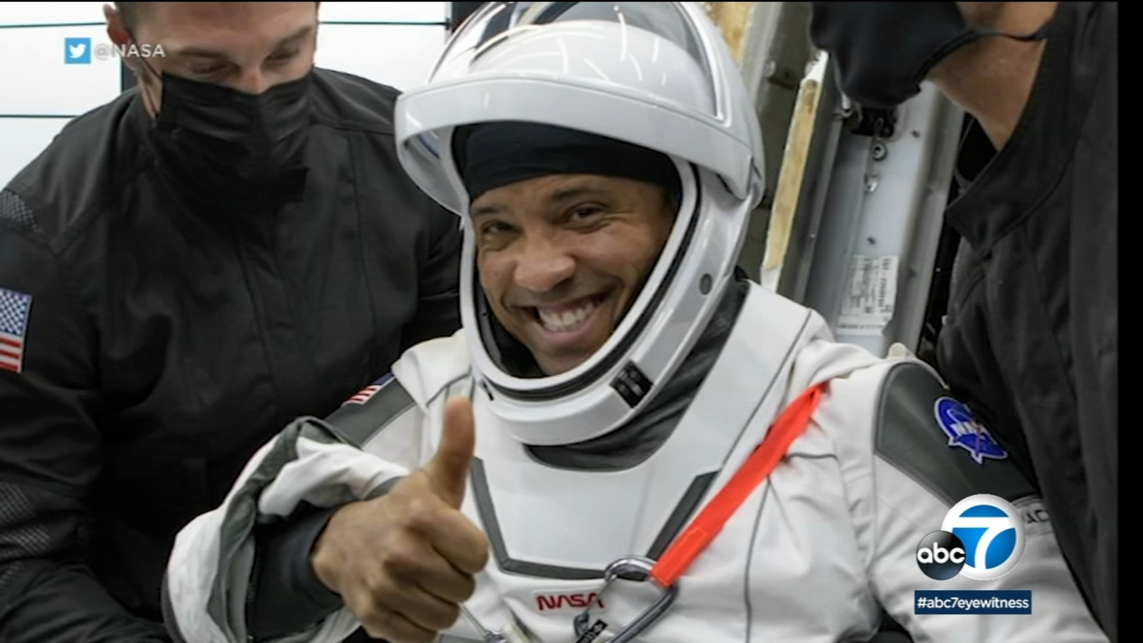 SoCal native Victor Glover, 1st Black astronaut on ISS for extended stay, reflects on mission
