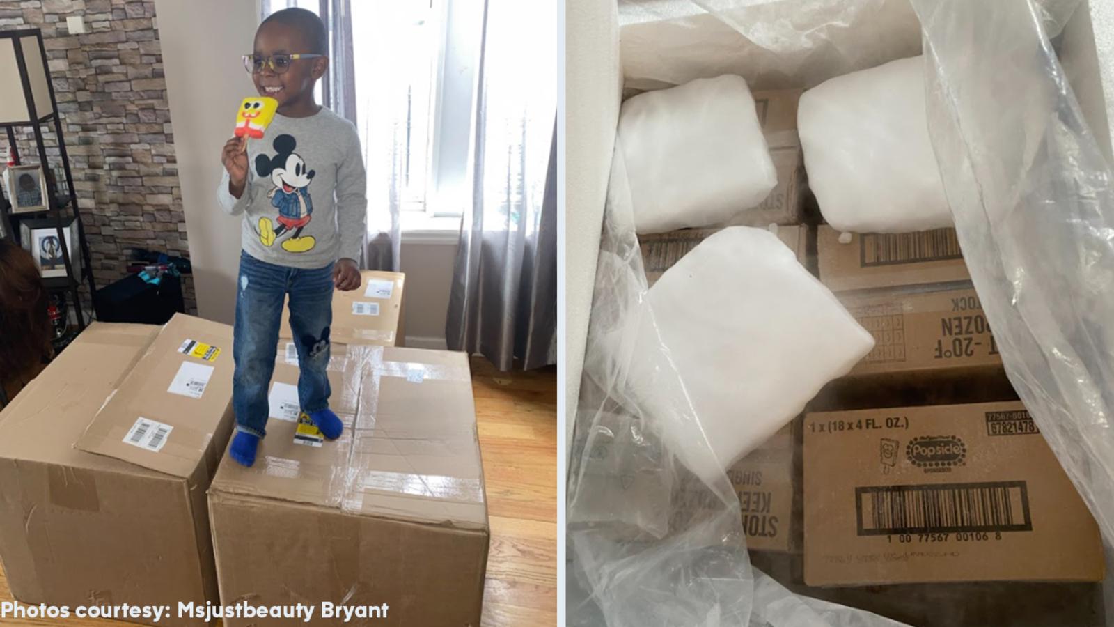 4-year-old NYC boy secretly buys $2,600 worth of SpongeBob popsicles on Amazon