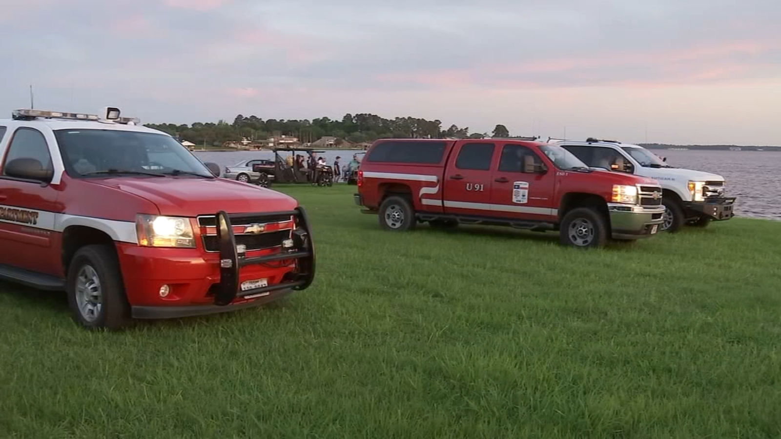 Search resumes Saturday for 2 missing boaters in Lake Conroe