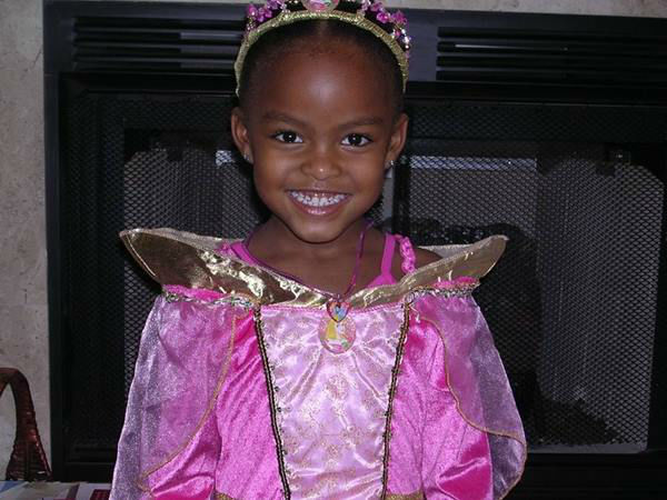 <div class='meta'><div class='origin-logo' data-origin='none'></div><span class='caption-text' data-credit='WTVD Photo/ Tisha Powell'>Princess Nina is pretty in pink!</span></div>