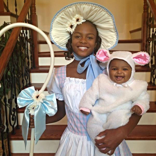 <div class='meta'><div class='origin-logo' data-origin='none'></div><span class='caption-text' data-credit='WTVD Photo/ Tisha Powell'>Nina and Eva on Halloween 2014</span></div>