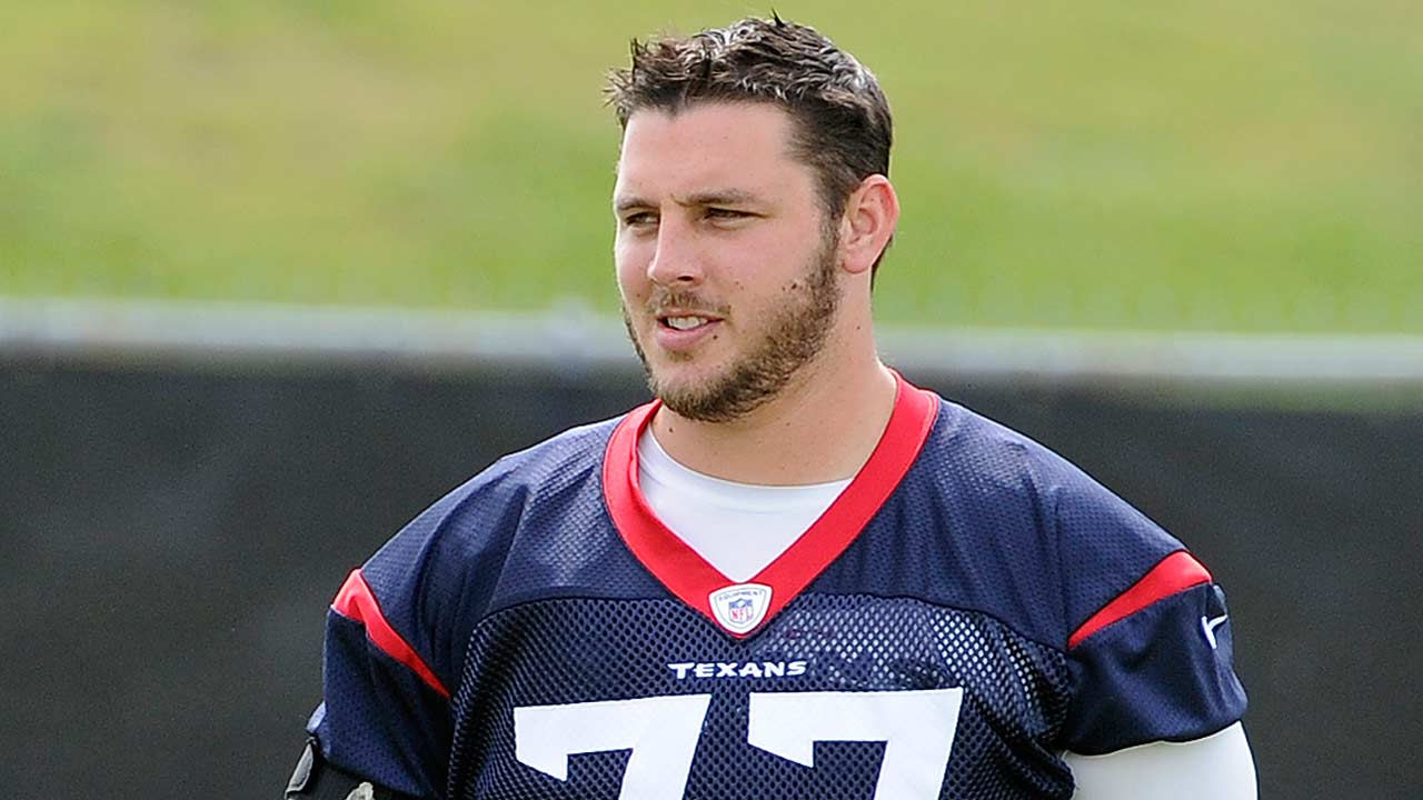 Houston Texans offensive tackle David Quessenberry