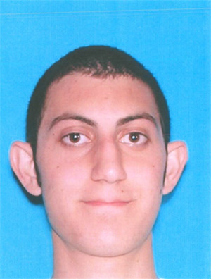 Richard Pananian is seen in this photo from the California Department of Motor Vehicles.