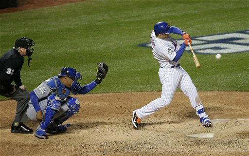 "<div class=""meta image-caption""><div class=""origin-logo origin-image none""><span>none</span></div><span class=""caption-text"">New York Mets' David Wright hits a two-run scoring single during the sixth inning of Game 3. (AP Photo/ Frank Franklin II)</span></div>"