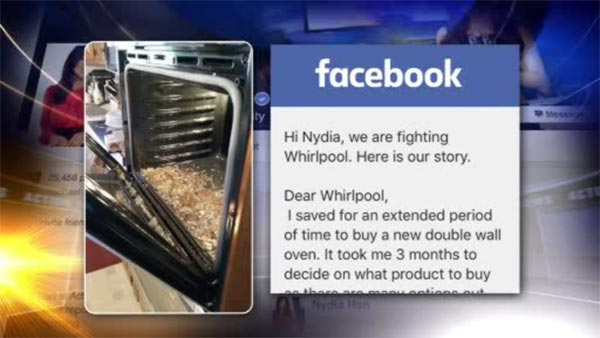 Attrayant Jules Lynn Of Berks County Posted A Photo On Reporter Nydia Hanu0027s Facebook  Page This Month Stating Her Whirlpool Oven Door Shattered During The First  ...