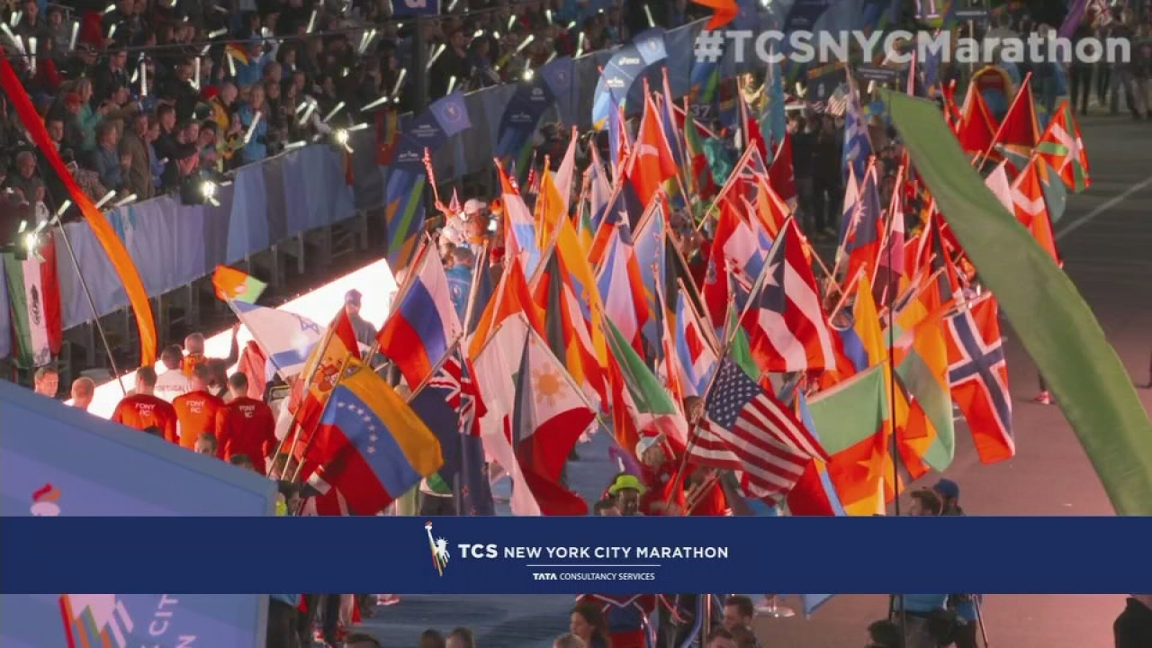 2015 TCS NYC Marathon Opening Ceremonies- Part 3