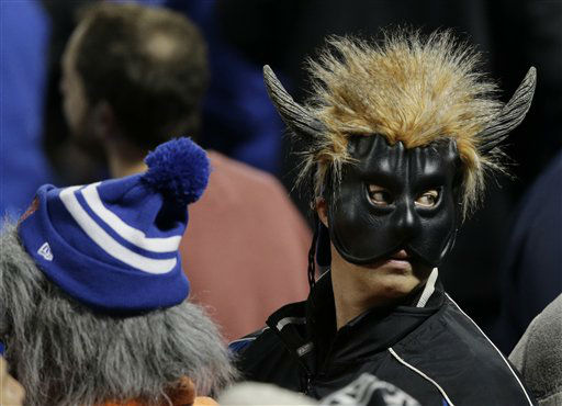 "<div class=""meta image-caption""><div class=""origin-logo origin-image none""><span>none</span></div><span class=""caption-text"">A spectator wears a Halloween mask before Game 4. (AP Photo/ Julie Jacobson)</span></div>"