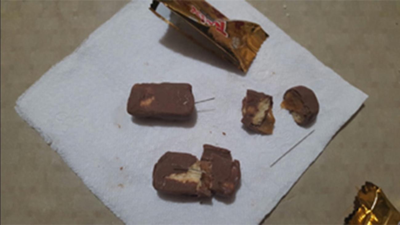 needles found inside halloween candy in philadelphia town | abc7