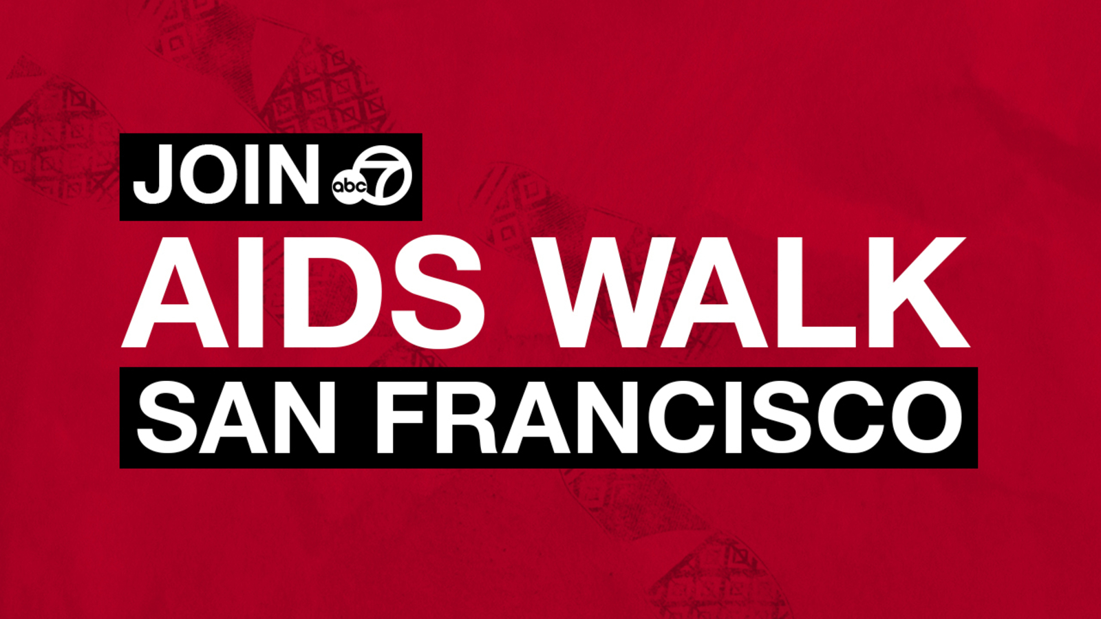 WATCH TOMORROW: AIDS Walk San Francisco