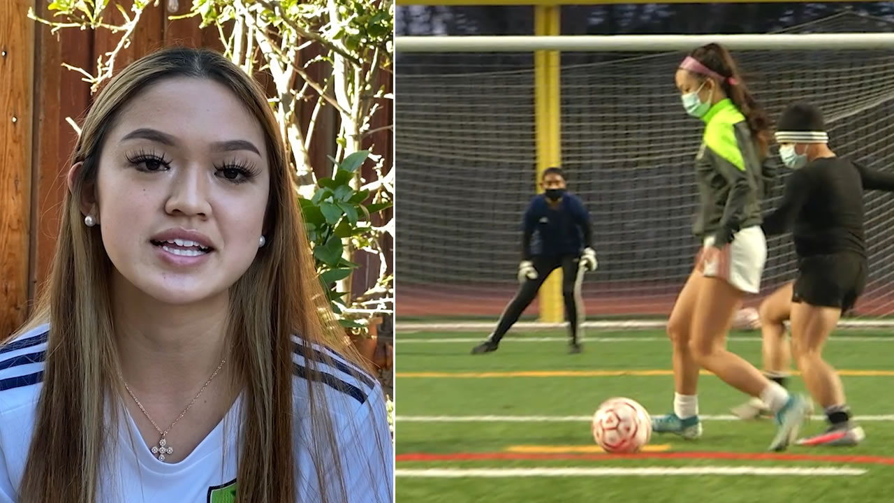 Marcie Chan of Aragon High School is pictured in these undated photos
