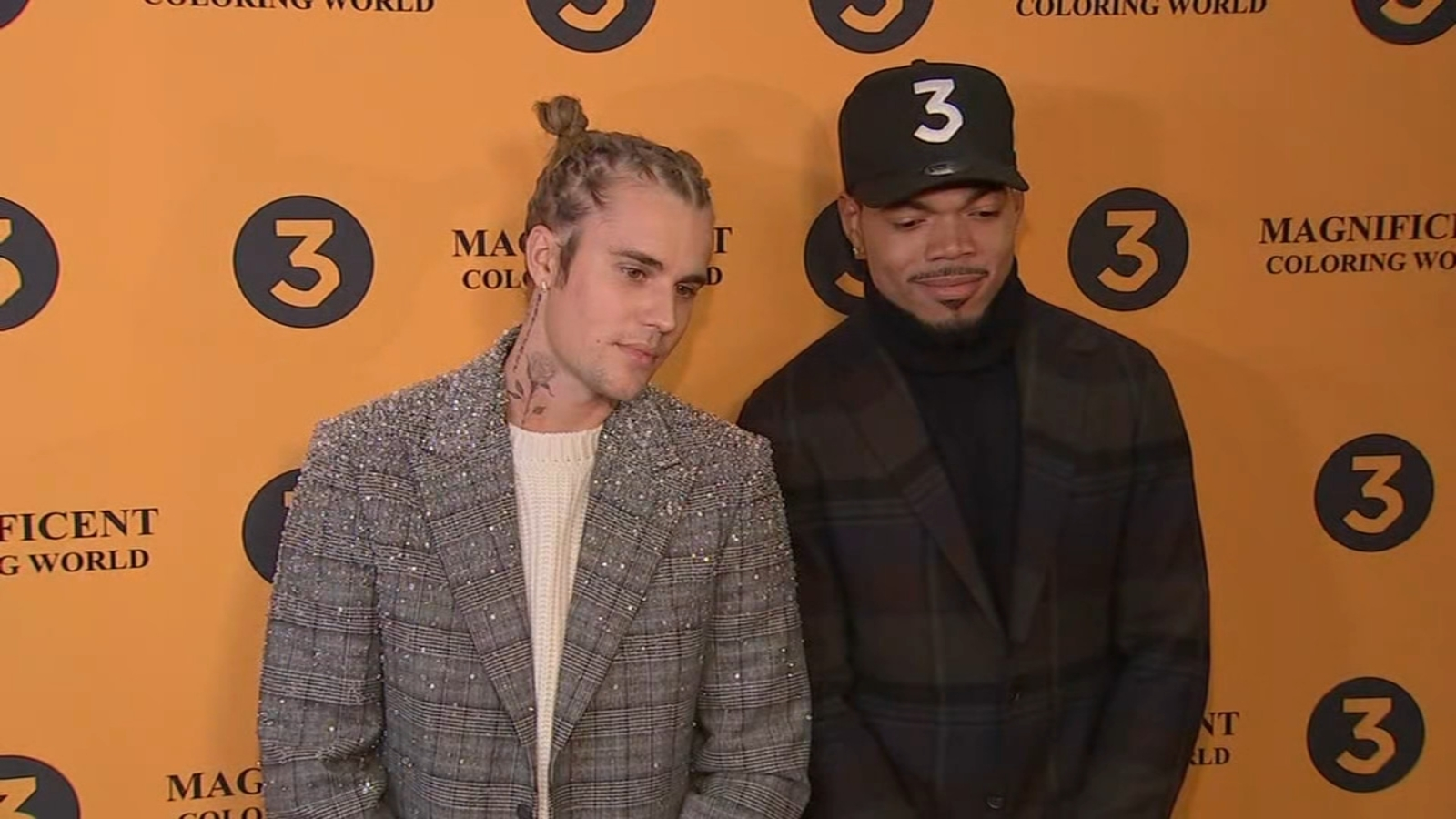 Justin Bieber, Vic Mensa and more flock to Chance the Rapper's movie premiere