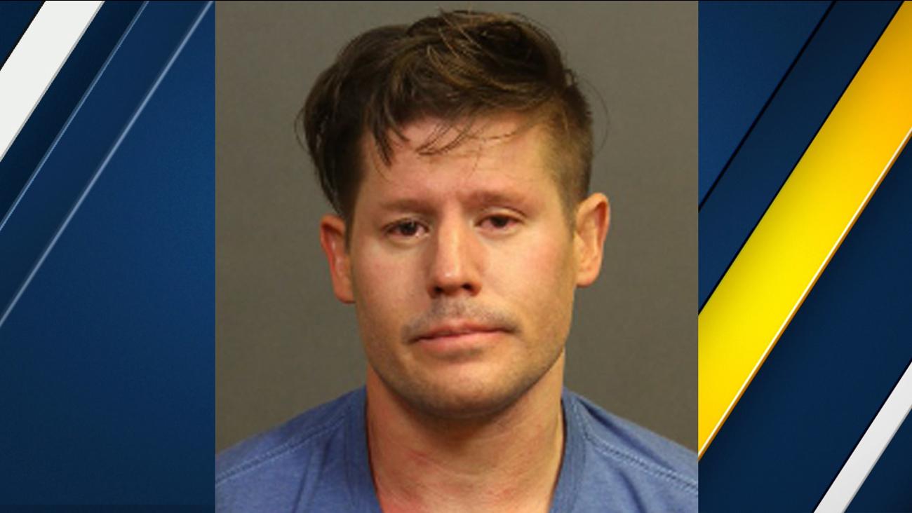 Benjamin Allen Golden, 32, is seen in this booking photo from Costa Mesa police.