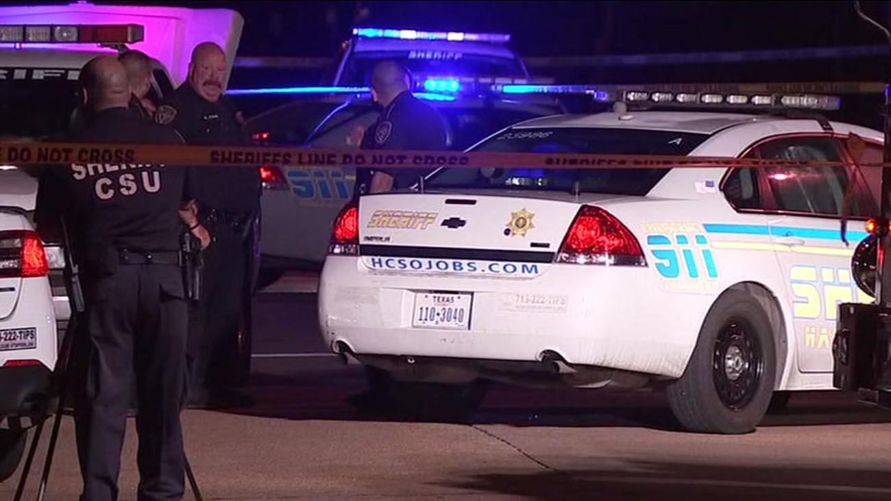 Harris County Sheriff's deputies investigate murder in N. Houston