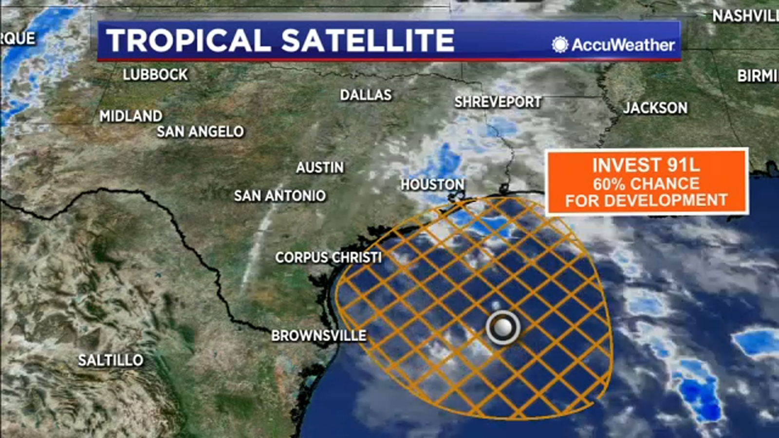 Disturbance in the western Gulf now has a 50% chance to develop