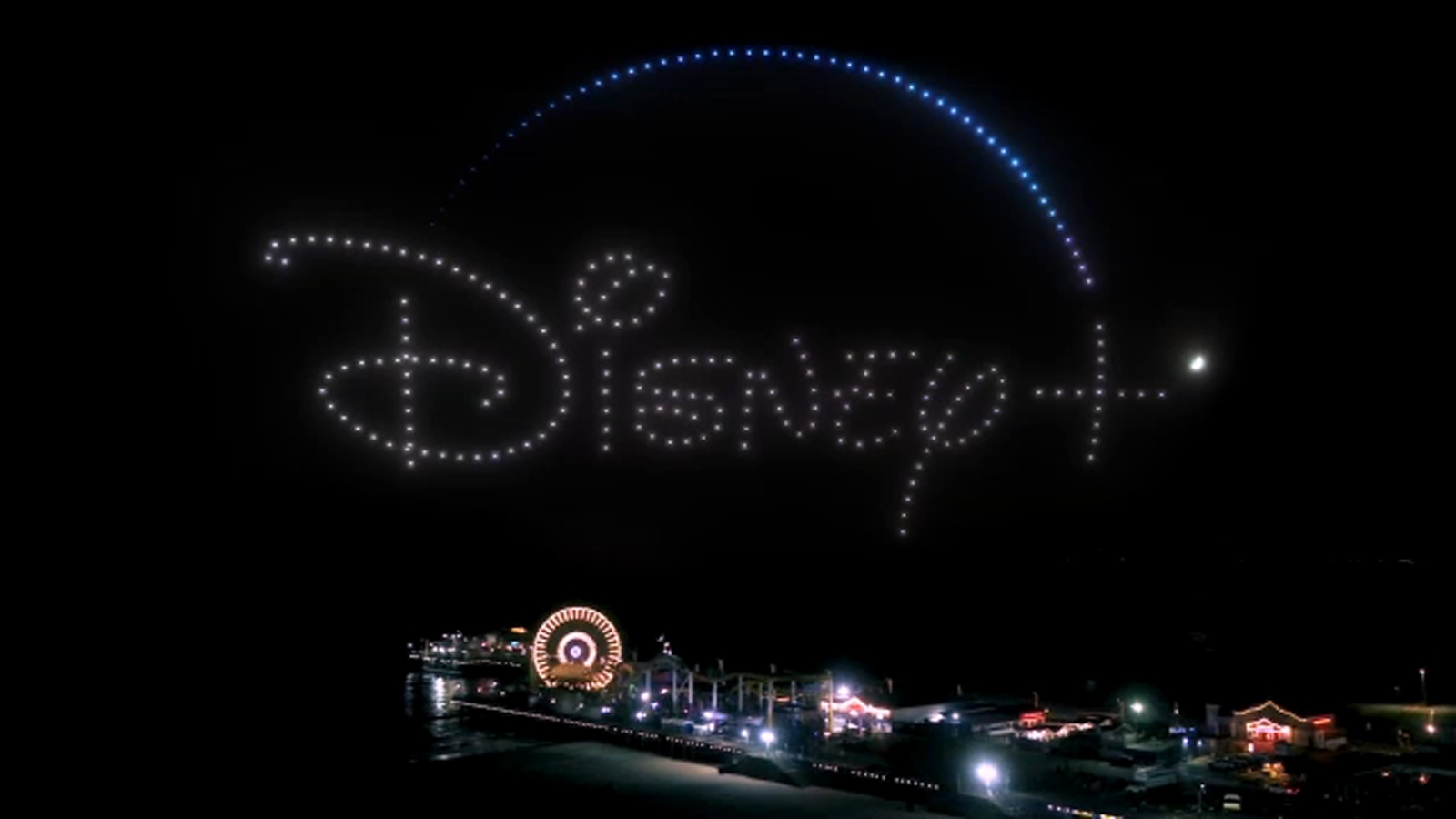 Drones showcase iconic characters, imagery from Disney Bundle in honor of National Streaming Day