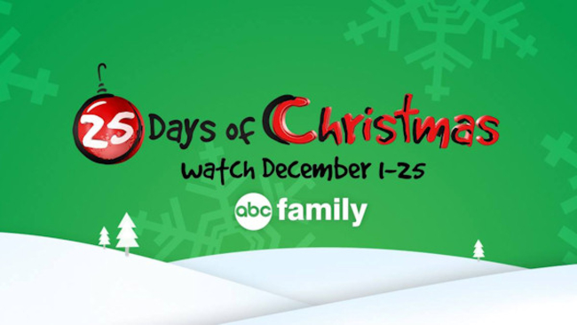 abc familys 25 days of christmas schedule is here abc7chicagocom - Abc 25 Days Of Christmas
