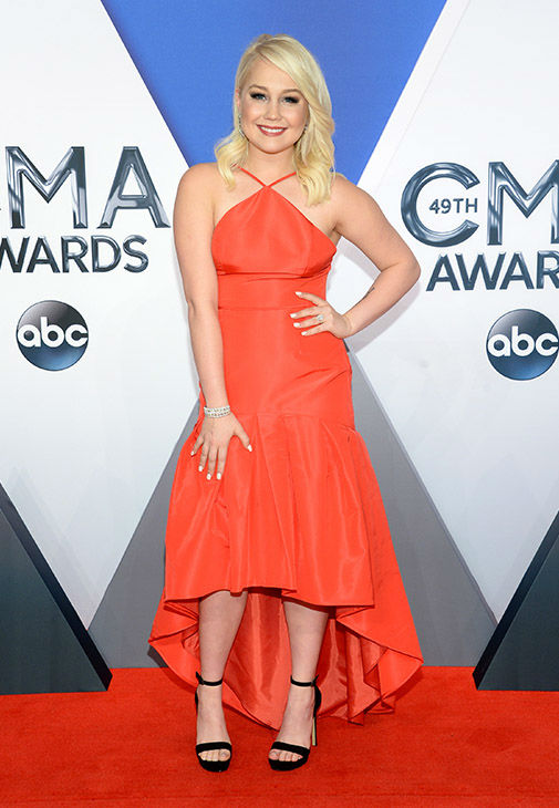 <div class='meta'><div class='origin-logo' data-origin='none'></div><span class='caption-text' data-credit='Evan Agostini/Invision/AP'>RaeLynn arrives at the 49th annual CMA Awards at the Bridgestone Arena on Wednesday, Nov. 4, 2015, in Nashville, Tenn.</span></div>
