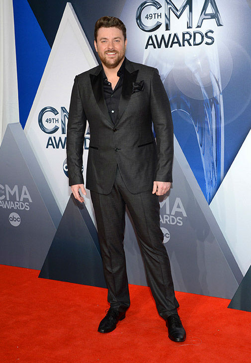 <div class='meta'><div class='origin-logo' data-origin='none'></div><span class='caption-text' data-credit='Evan Agostini/Invision/AP'>Chris Young arrives at the 49th annual CMA Awards at the Bridgestone Arena on Wednesday, Nov. 4, 2015, in Nashville, Tenn.</span></div>