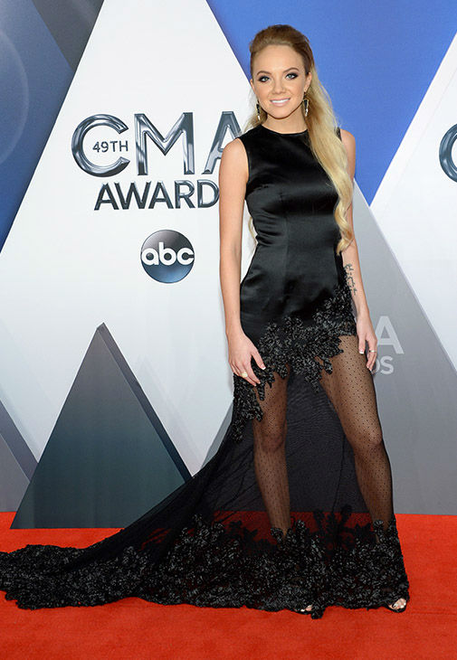 <div class='meta'><div class='origin-logo' data-origin='none'></div><span class='caption-text' data-credit='Evan Agostini/Invision/AP'>Danielle Bradbery arrives at the 49th annual CMA Awards at the Bridgestone Arena on Wednesday, Nov. 4, 2015, in Nashville, Tenn.</span></div>