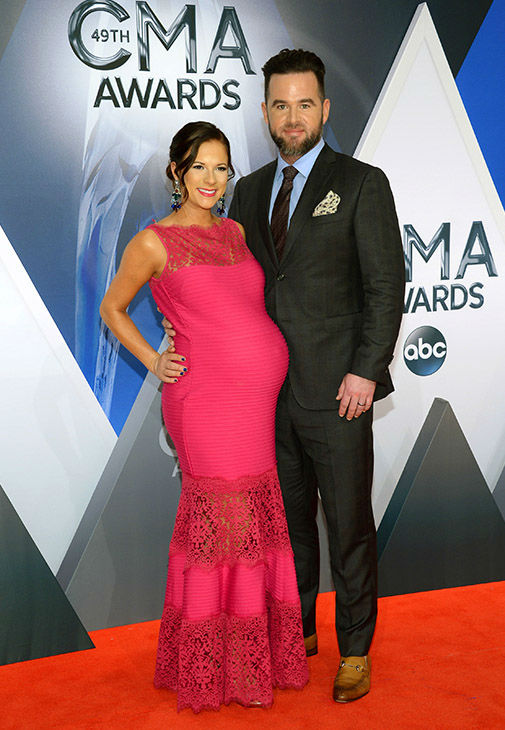<div class='meta'><div class='origin-logo' data-origin='none'></div><span class='caption-text' data-credit='Evan Agostini/Invision/AP'>David Nail, right, and Catherine Werne arrive at the 49th annual CMA Awards at the Bridgestone Arena on Wednesday, Nov. 4, 2015, in Nashville, Tenn.</span></div>