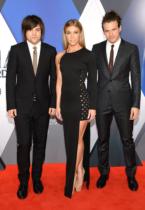 <div class='meta'><div class='origin-logo' data-origin='none'></div><span class='caption-text' data-credit='Evan Agostini/Invision/AP'>Neil Perry, Kimberly Perry and Reid Perry, of The Band Perry, arrive at the 49th annual CMA Awards at the Bridgestone Arena on Wednesday, Nov. 4, 2015, in Nashville, Tenn.</span></div>