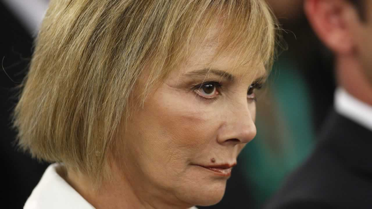Former prosecutor Marcia Clark sits in a courtroom during O.J. Simpson's preliminary hearing in Las Vegas, Thursday, Nov. 8, 2007.