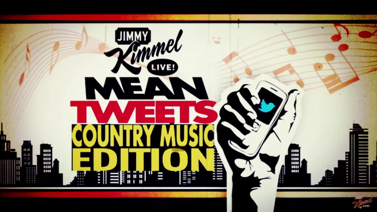 "Mean Tweet: Country Music Edition on ""Jimmy Kimmel Live!"""