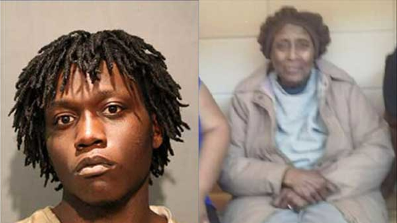 Trae Chatmon, 18, was charged with first-degree murder in the stabbing death of Josephine Johnson, 89, in Chicago's Washington Park neighborhood.