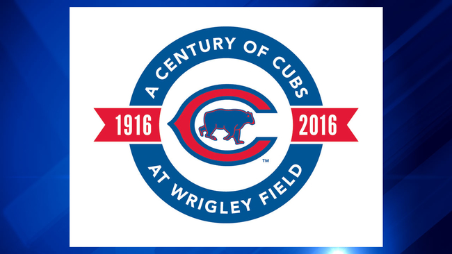 New Cubs Logo Commemorates 100 Years Of Play At Wrigley Field