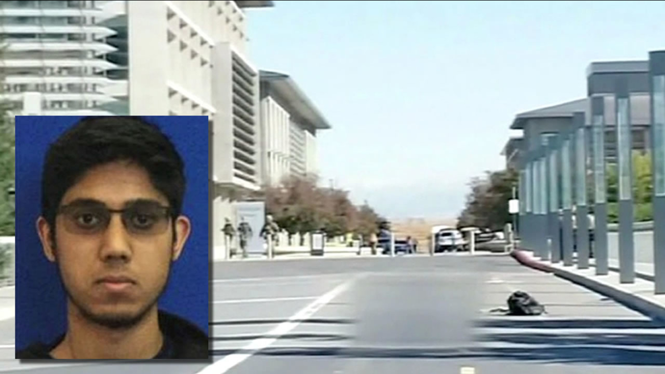 Photo on Faisal Mohammad and the UC Merced campus