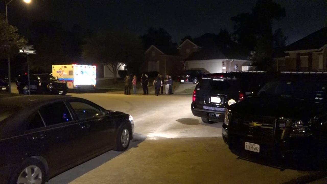 SWAT standoff scene