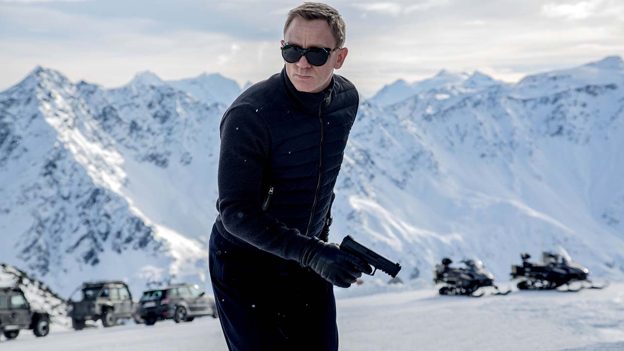 "Daniel Craig appears in a scene from the James Bond film, ""Spectre."""