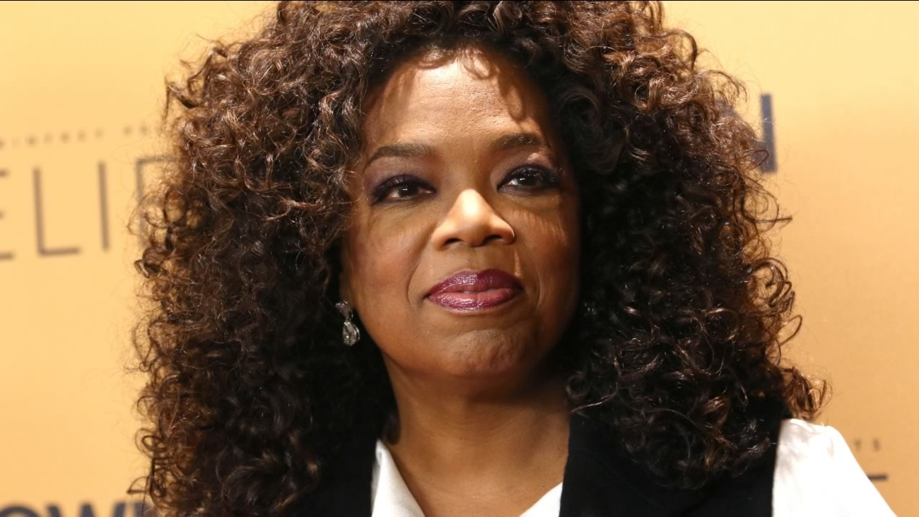 "Oprah Winfrey attends the premiere of the Oprah Winfrey Network's (OWN) documentary series ""Belief"", at The TimesCenter on Wednesday, Oct. 14, 2015, in New York."